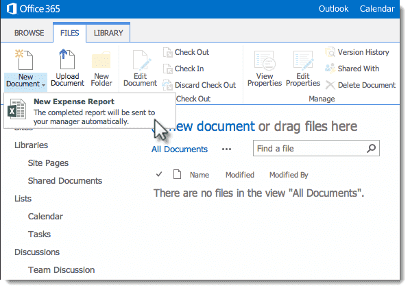 Sharepoint content types 4sysops for Document library content type