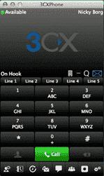 3CX Phone - Mac