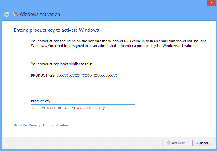 Windows couldn t be activated error code 0x800732b dns for Window 10 pro product key