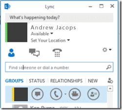 Lync Client