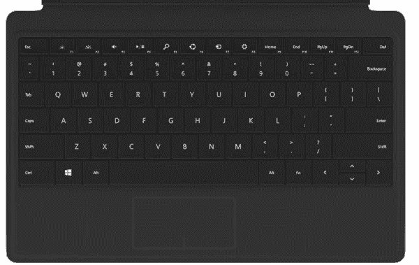 The Type Backlit Keyboard for Surface