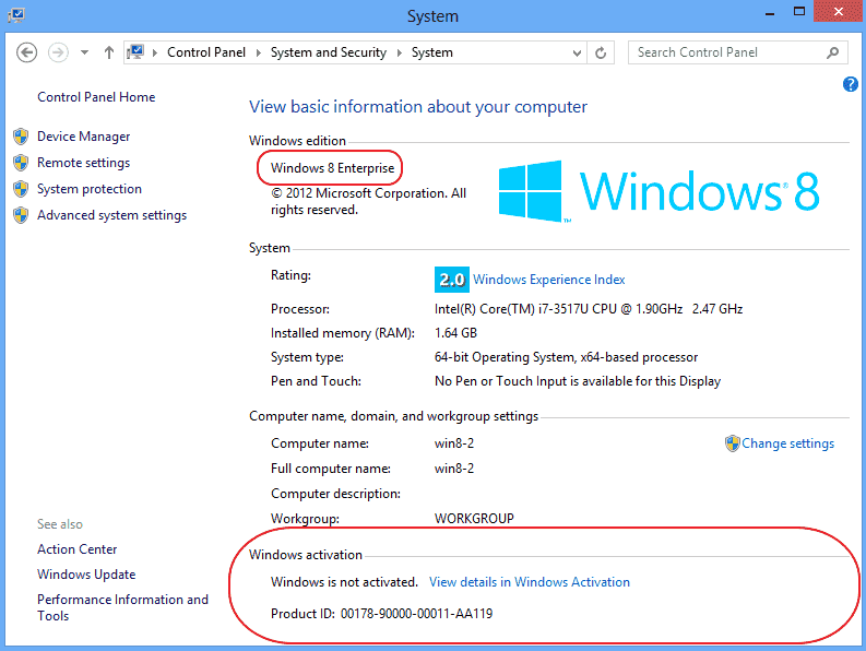 windows 8 1 enterprise activation key