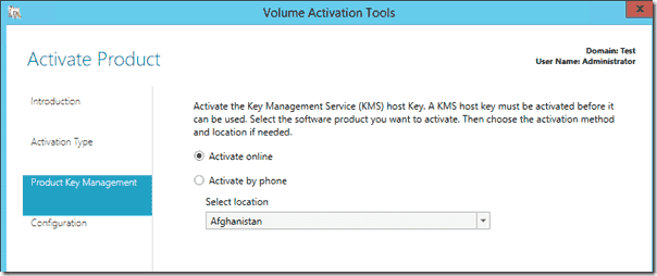 ADBA Product Key management