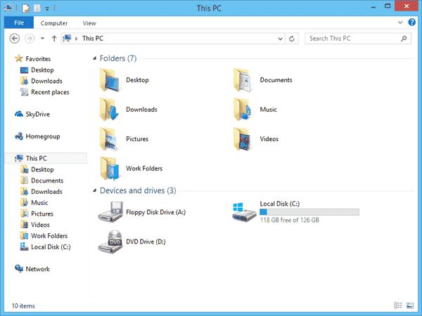 Work Folders in Windows 8.1