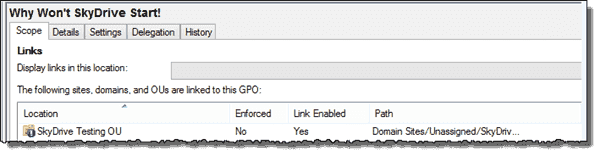 Creating an isolated environment to test Group Policy changes
