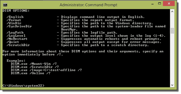 Getting help with DISM is made easier with command prompt examples