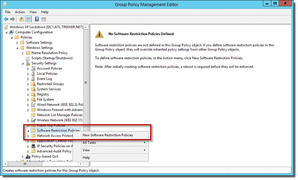 Windows Movie Maker Software Restriction Policy