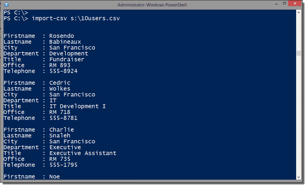 Import users into Active Directory with PowerShell – 4sysops