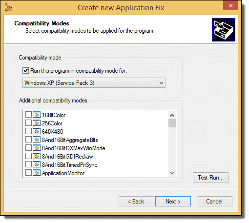 Microsoft Application Compatibility Toolkit and Windows XP