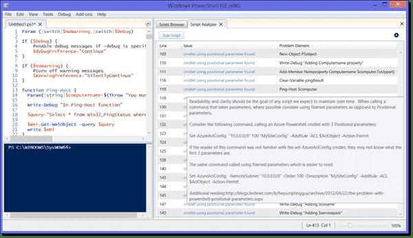 PowerShell Script Analyzer