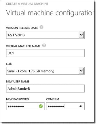 Create a VM in Azure, Part 1