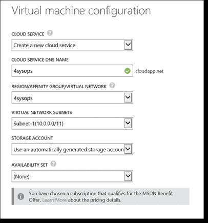 Create a VM in Azure, Part 2