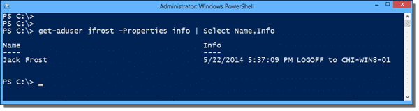 Get user status with PowerShell