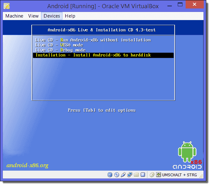 Install Android on VirtualBox – 4sysops