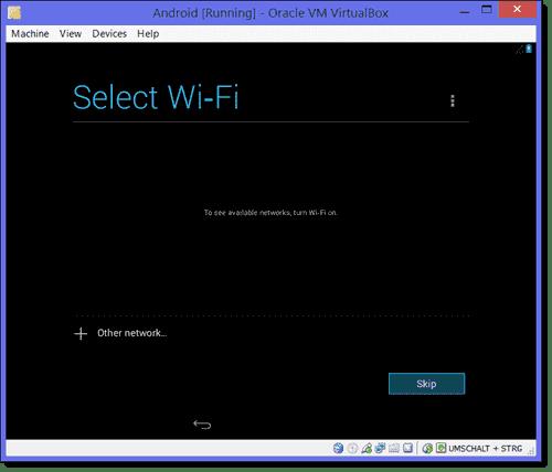 Skip Wi-Fi