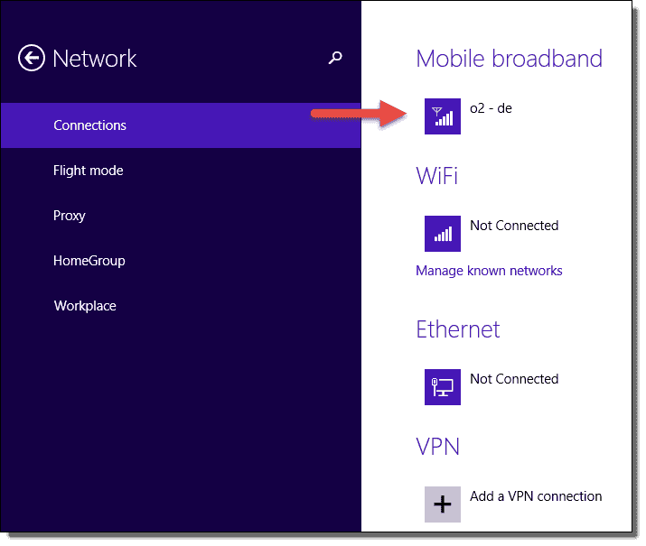 how to connect windows 8.1 to wifi