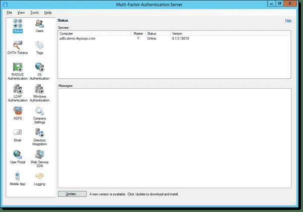 Multi-Factor Authentication Server