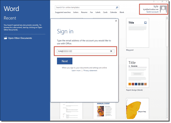 Sign in to OneDrive for Business