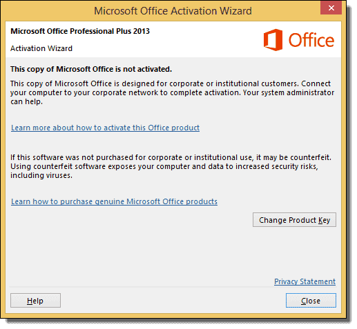 microsoft office 2013 professional plus product key working