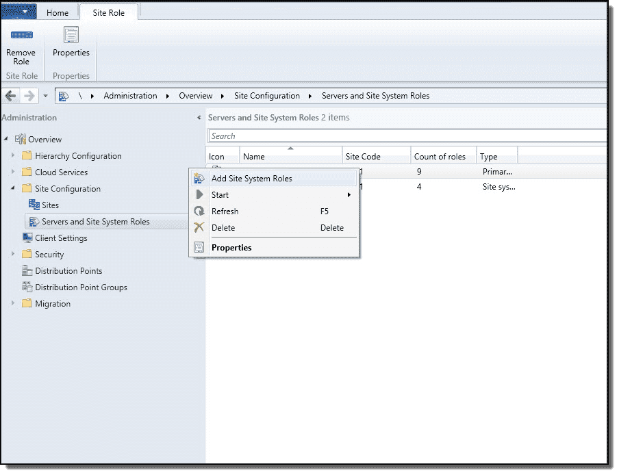 Unifying SCCM and WSUS – Part 1: Configuring roles and