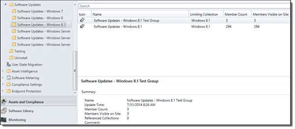 Software Update folders for each OS that we support