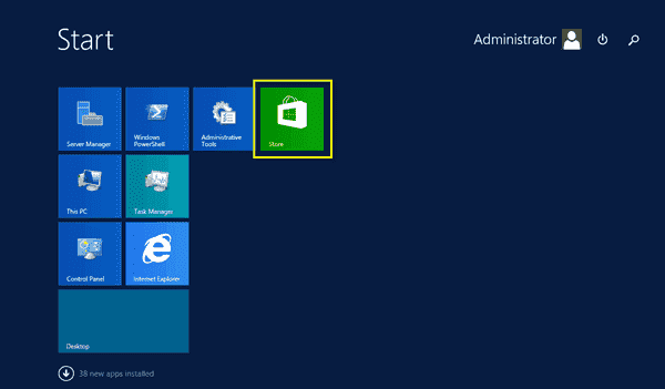Windows Server 2012 Desktop Experience
