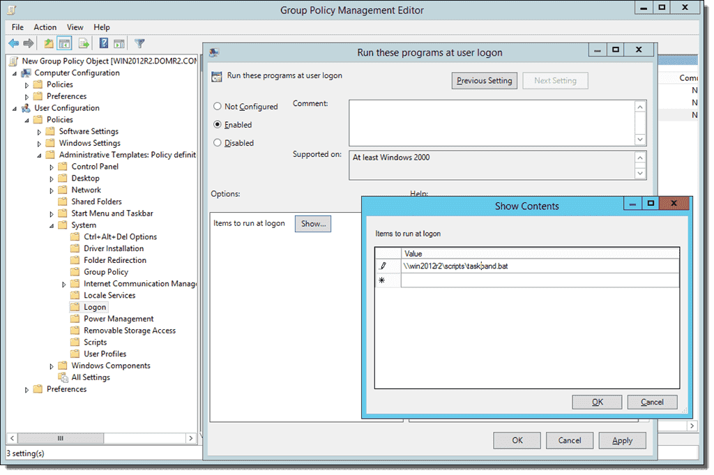 Configure pinned programs on the Windows Taskbar with Group Policy ...