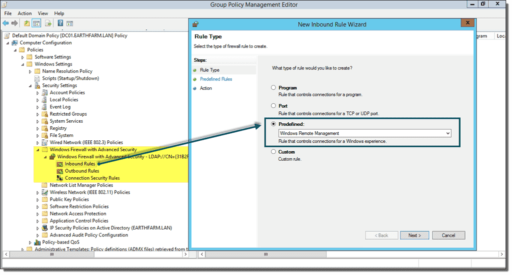 Enable powershell remoting 4sysops allow winrm in windows firewall ccuart Images