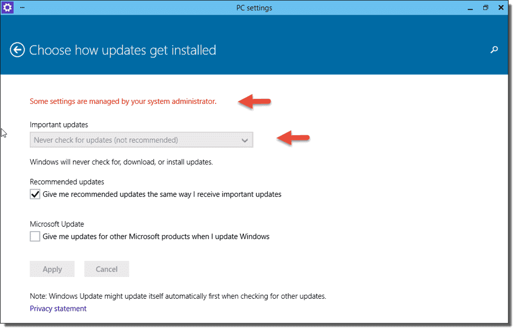 Disable Windows Update in Windows 10  4sysops