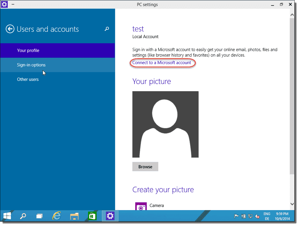 install windows 10 with a local account 4sysops
