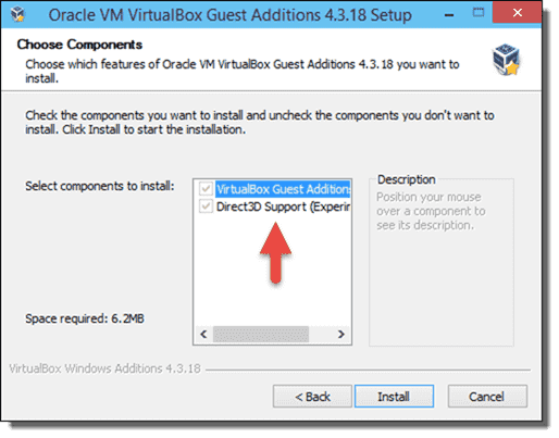 Install VirtualBox Guest Additions on Windows 10 – 4sysops