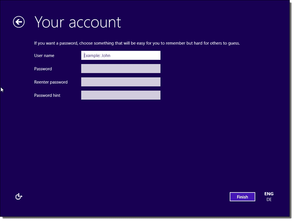 Install Windows 10 with a local account – 4sysops