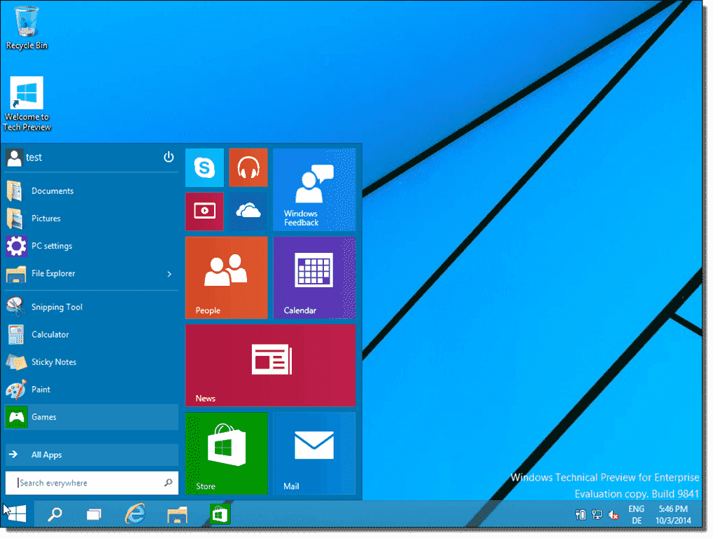 Start menu vs. Start screen – Why Microsoft must dump the desktop ...