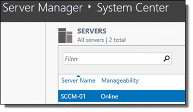 Using Server Manager to check for pending reboots