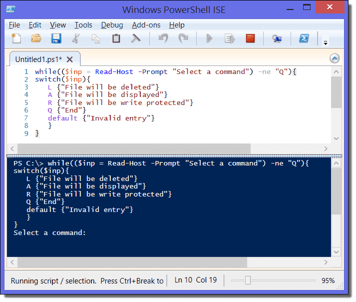 PowerShell loops: For, Foreach, While, Do-Until, Continue