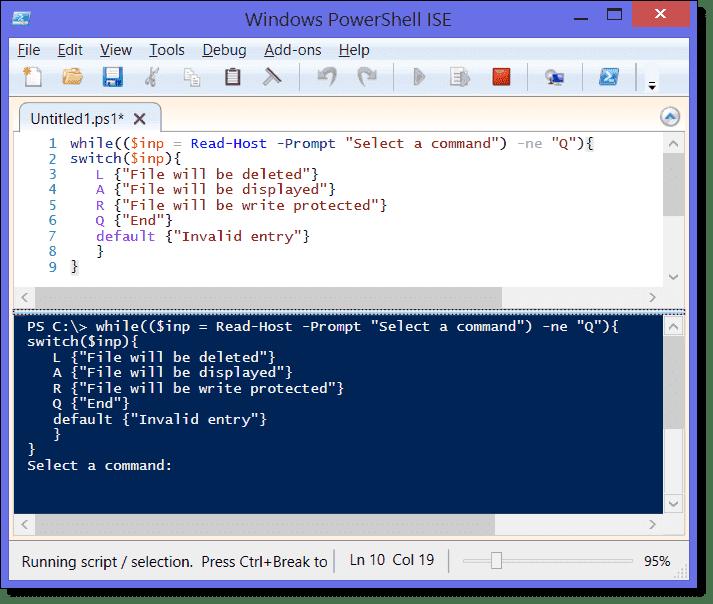 How to write PowerShell scripts