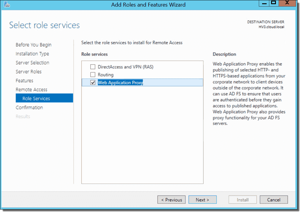 New in Windows Server 10 Web Application Proxy – 4sysops