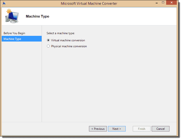 P2V for Hyper-V – Microsoft Virtual Machine Convertor 3 0