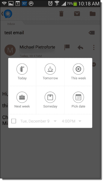 Nine is Outlook for Android – 4sysops