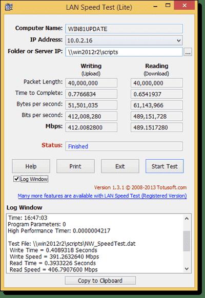 LAN Speed Test Lite