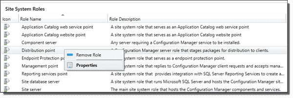 Enabling unknown computer support on the distribution point