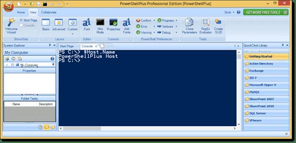 Host name of PowerShellPlus