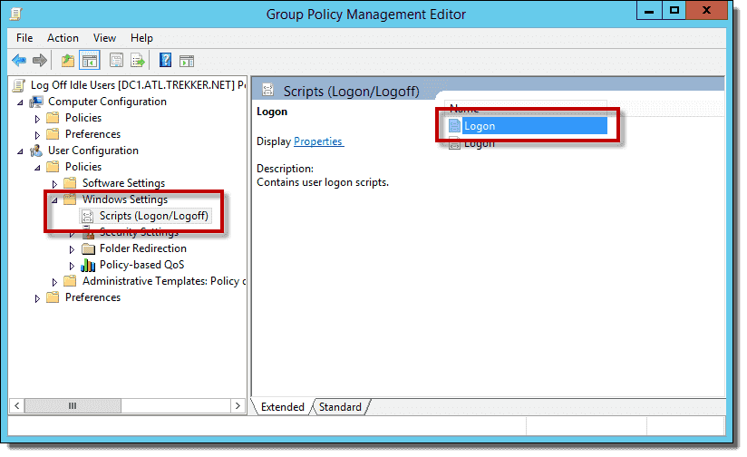 Automatically log off idle users in Windows – 4sysops