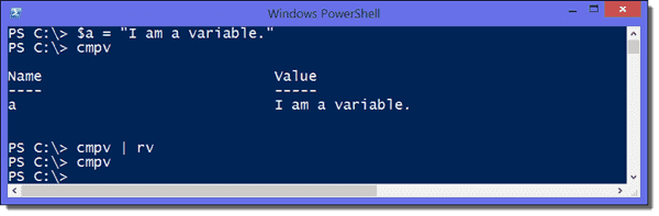 Removing all new variables from the console