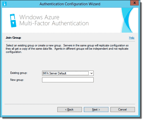 Azure Multi-Factor Authentication Server Configuration Wizard 03