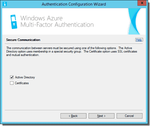 Azure Multi-Factor Authentication Server Configuration Wizard 04