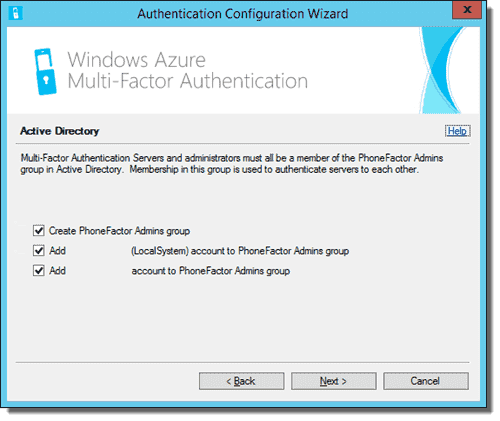 Azure Multi-Factor Authentication Server Configuration Wizard 05