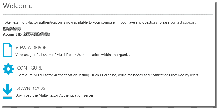 Azure Multi-Factor Authentication – Part 3: Configuring the