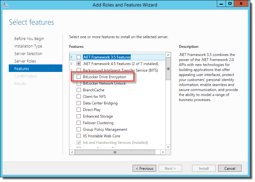 Configure and enable BitLocker on Windows Server – 4sysops