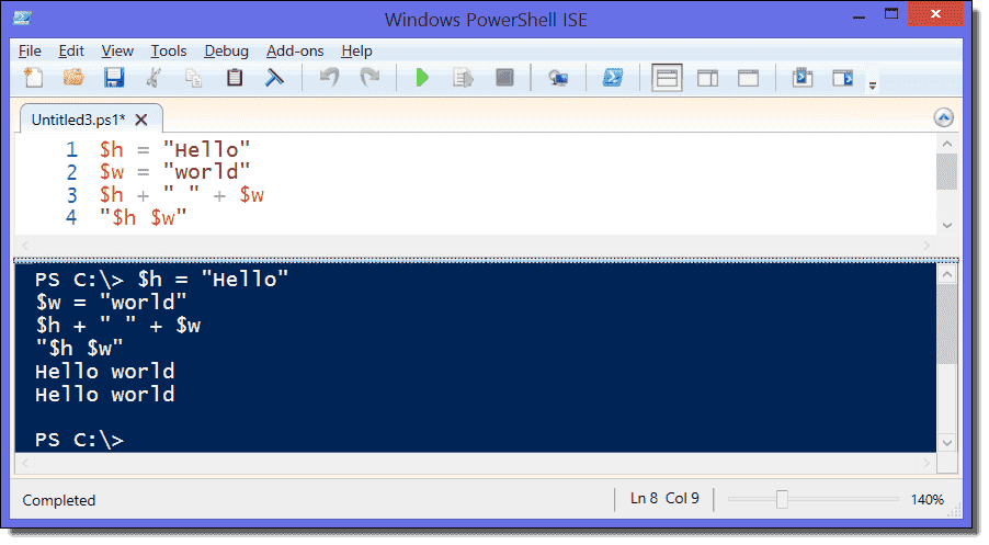 Strings in PowerShell – Replace, compare, concatenate, split